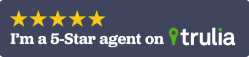 I'm a 5-star agent Trulia